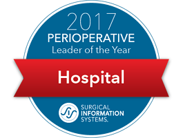 2017 Perioperative Leader of the Year   Hospital