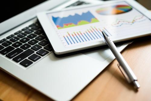 analytics on tablet