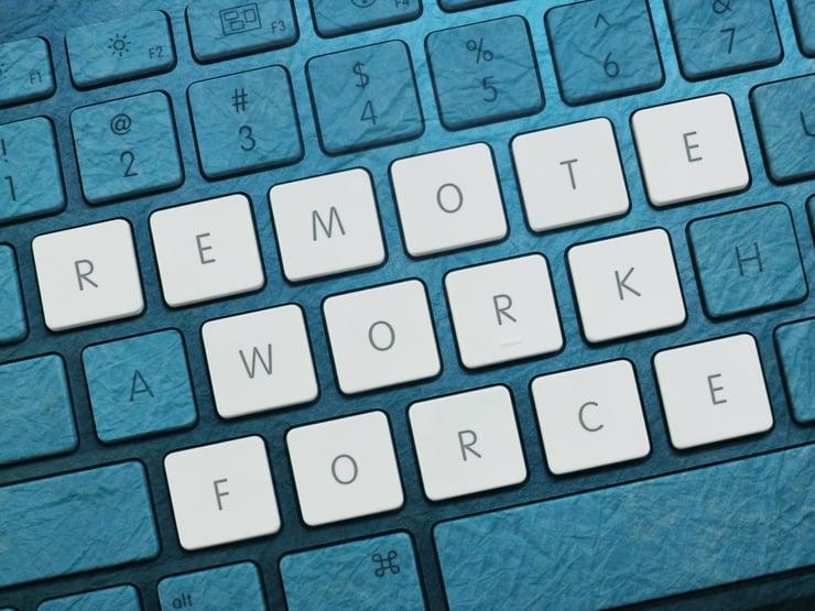remote workforce graphic