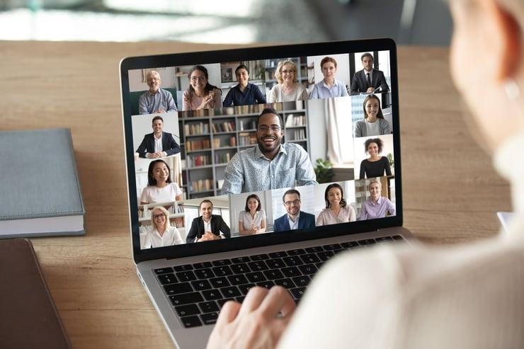 virtual meetings shutterstock image
